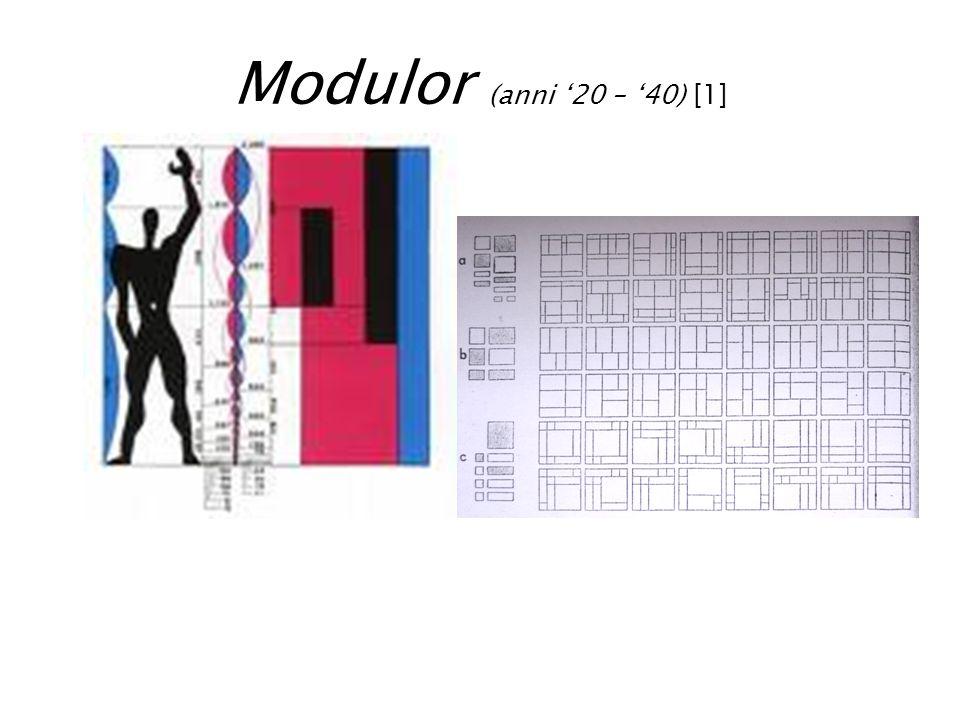 Modulor (anni '20 – '40) [1]